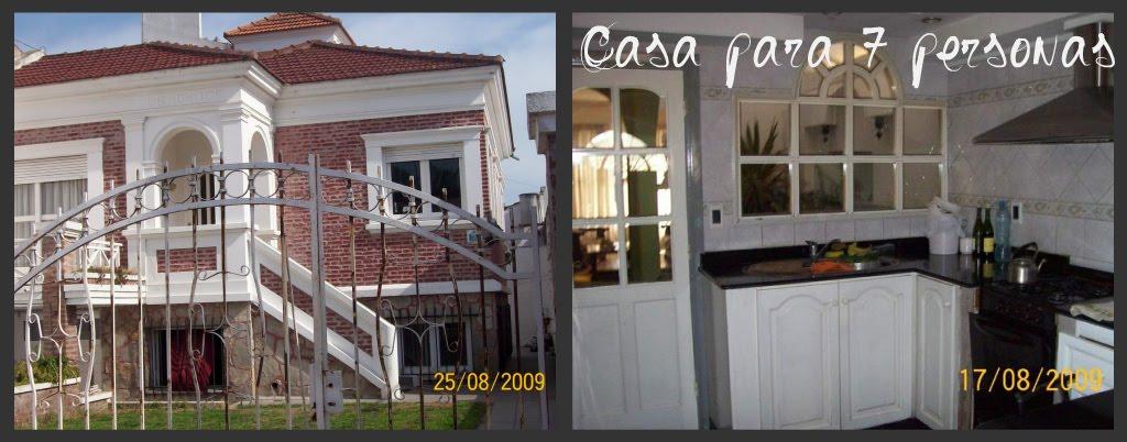Alquiler Casa para 7 personas en Necochea