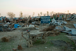 Cyclone damage in Patharghata, Barguna. Amin DRIK/Concern Nov 2007