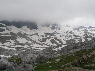 glaciar de Pineta