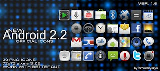 Android 2.2 icons