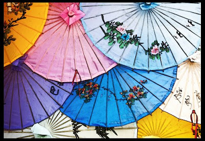 how to make an ancient chinese umbrella