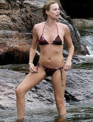 charlize theron in bikini