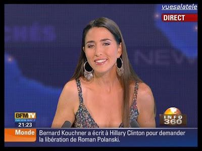 vuesalatele: Candice MAHOUT – BFM TV – 2009 09 28