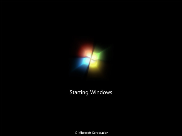 Download Windows 7 Boot Screen for Windows XP