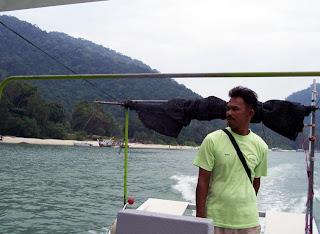 Penang boat driver