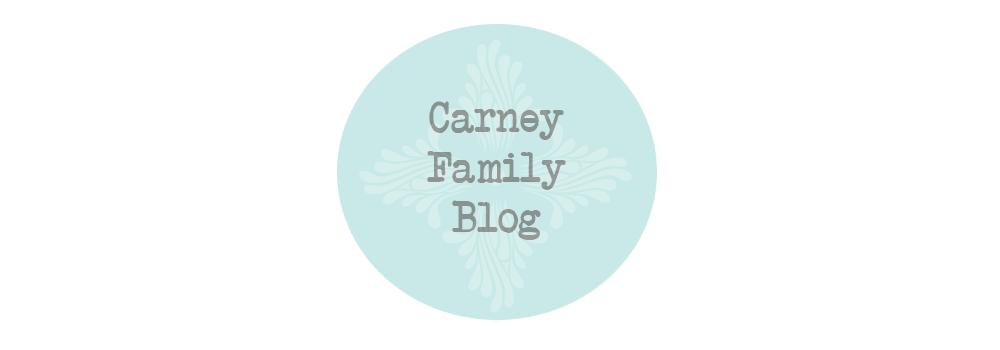 Carney Family Blog