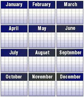 Asal Usul Sejarah Bulan Januari sampai Desember