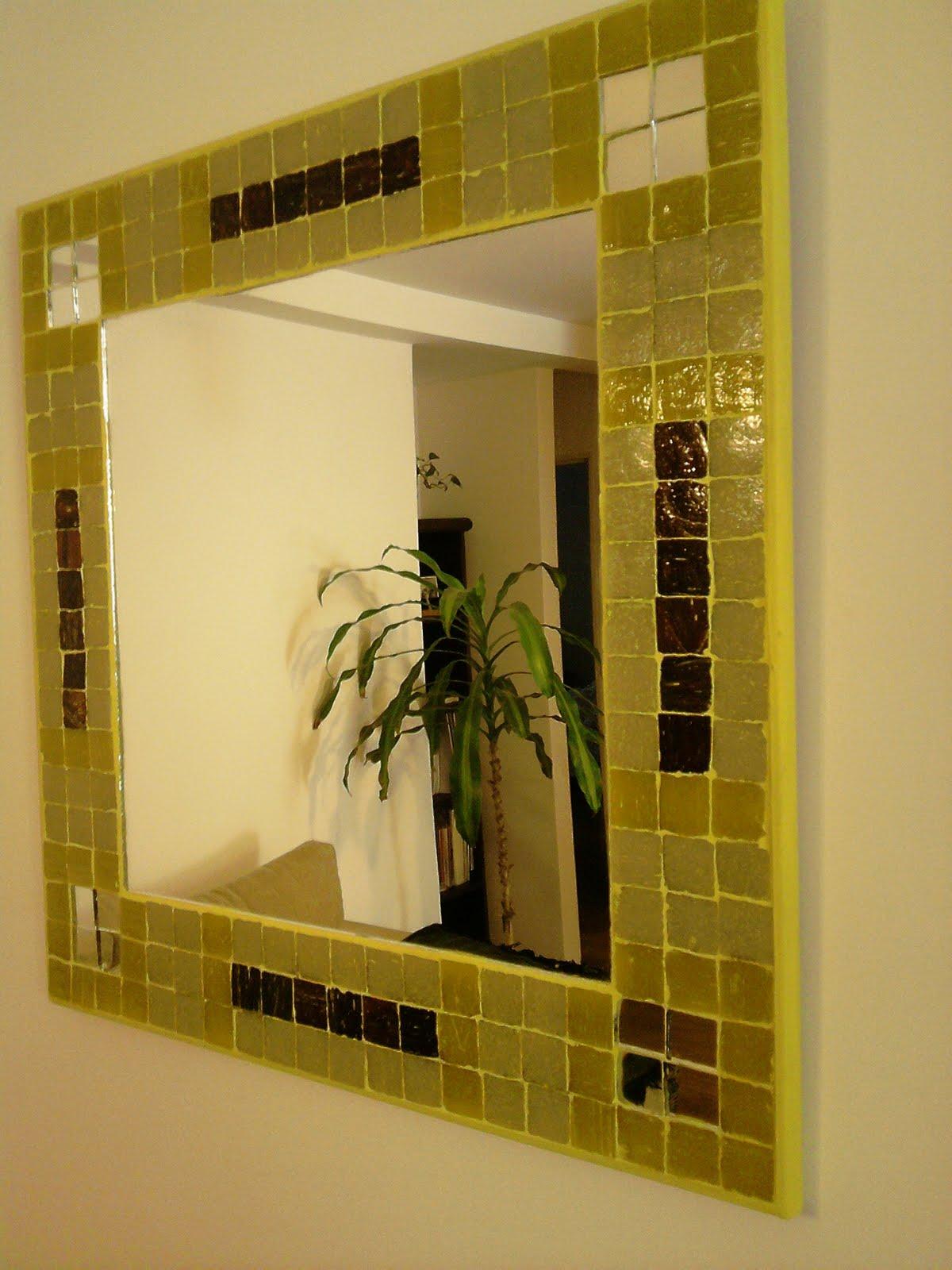 Espejos y lamparas espejo decorativo cuadrado for Espejos cuadrados