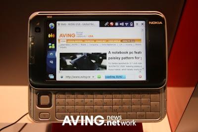 Nokia's Internet tablet 'N810'