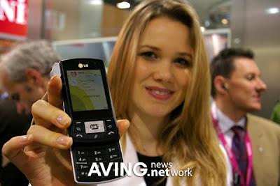 3G smartphone LG KS10