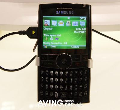 Samsung's 3G HSDPA phone