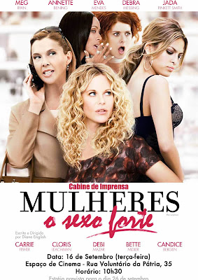 Meg Ryan, Eva Mendes, Annette Bening, Carrie Fisher, Bete Midler