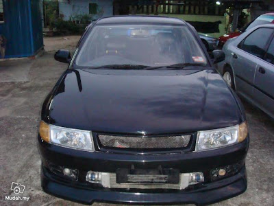 This is actually Proton Wira (equivalent to Mitsubishi Lancer)