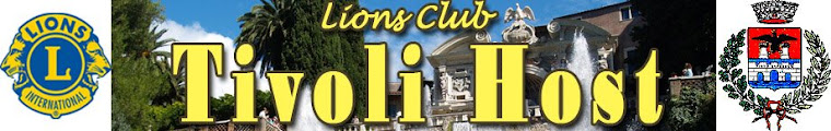 Lions Club Tivoli Host