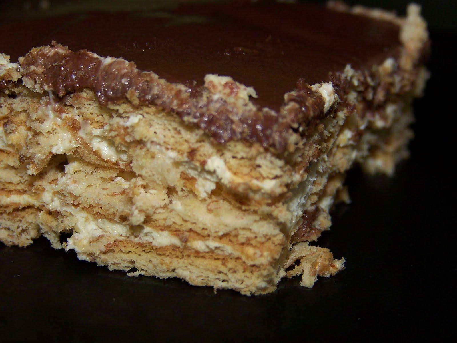 Stefanies Cooking Spot: Chocolate Éclair Dessert