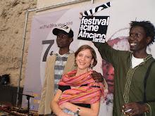 Presentación en Sevilla del Festival de cine africano. Día 7 de mayo