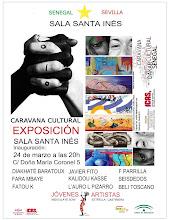 Exposición artístas plásticos. Caravana. Día 24 marzo a las 20h en la Sala Santa Inés.