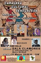 Caravana Cultural Senegalesa en Madrid.         Dia 21 marzo 2010