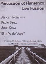 Música african y andaluza. Chiringuito Vigía. Mazagón 31 de julio 2010