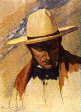 San Martín - Retrato por Roig