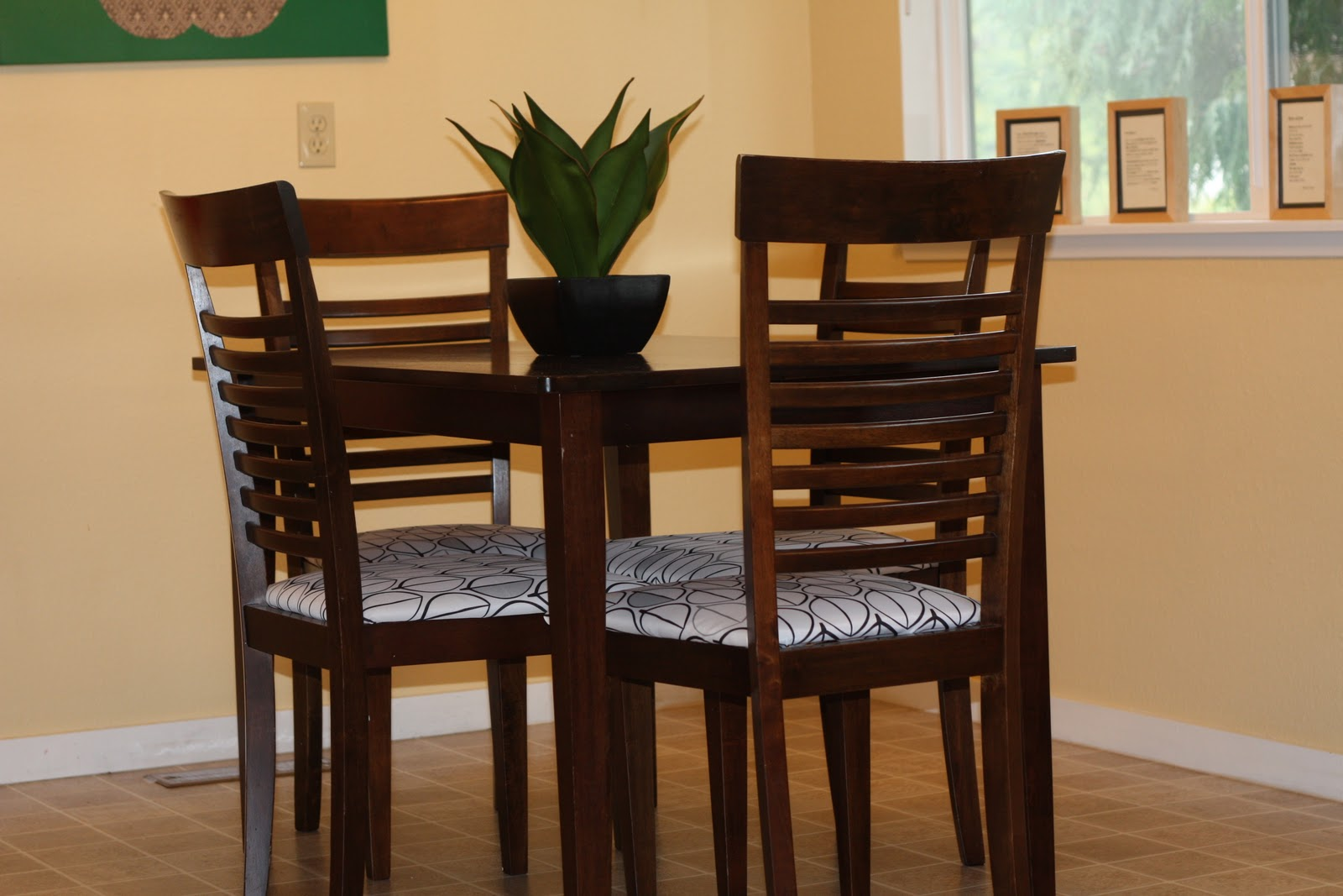 Incircle Interiors Reupholstered Kitchen Chairs
