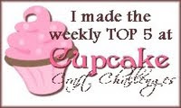 12/7/09 - I made top 5 at Cupcake Craft Challenge