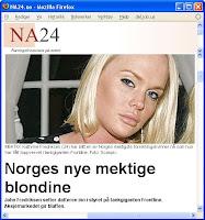 NA24: Norges nye mektige blondine