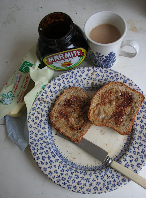 Vogels Soya and Linseed toast with marmite