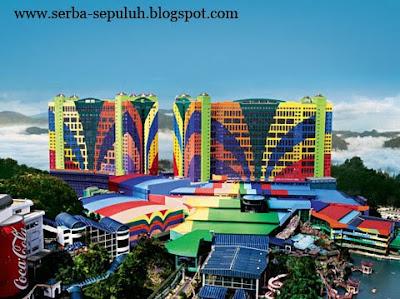 1 10 Hotel terbesar di dunia