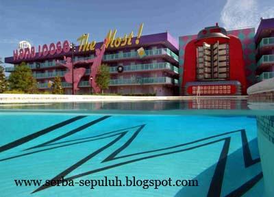 10 10 Hotel terbesar di dunia