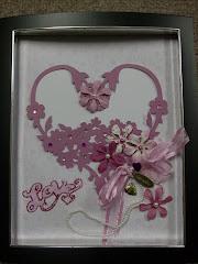 8x10 Framed Valentine
