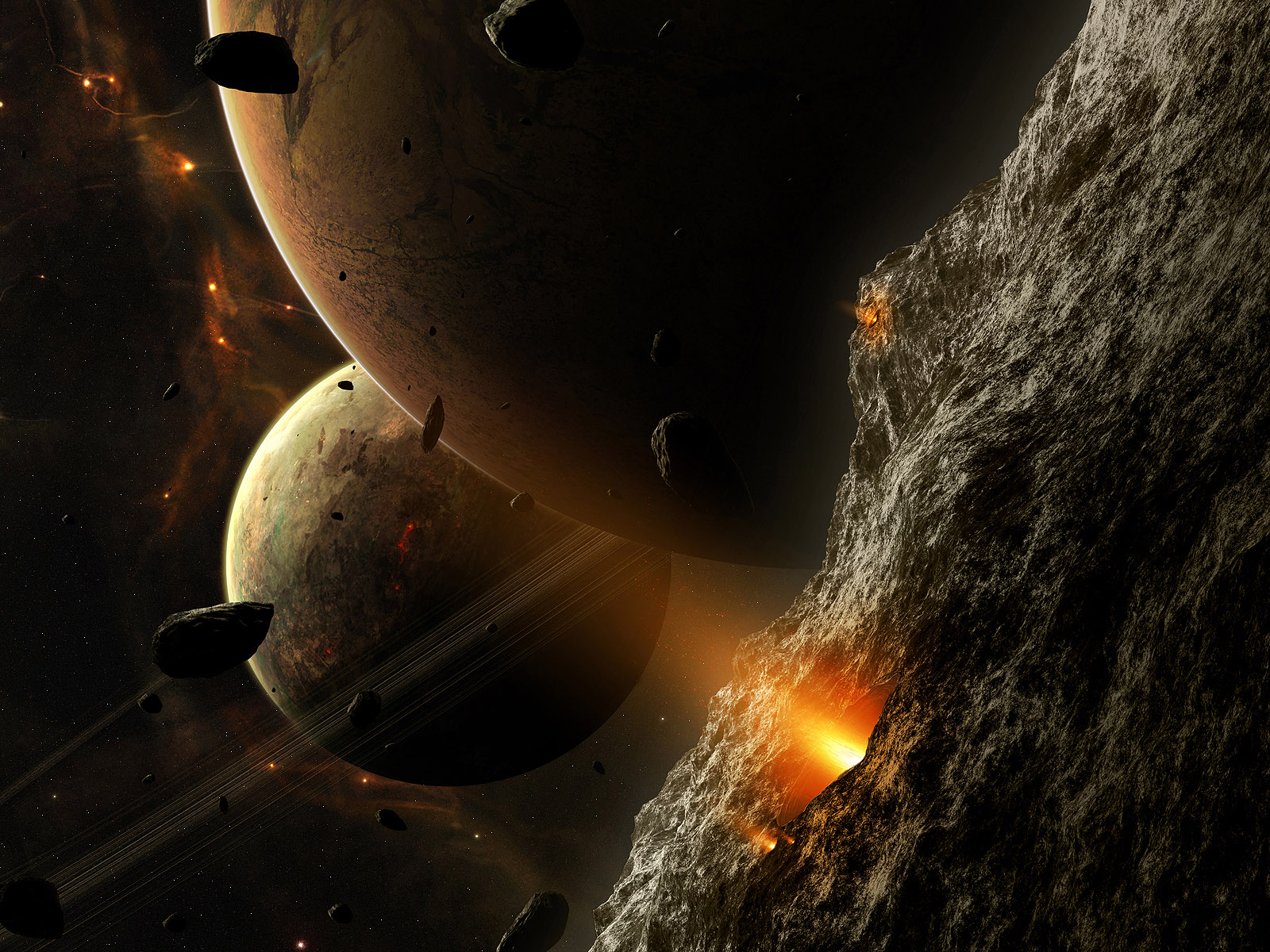 Wallpapers del universo en 3D