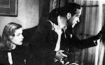 "Bacall and Bogart in ""The Big Sleep"""