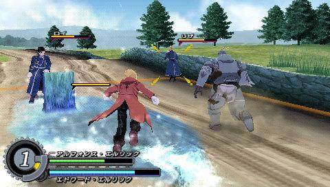 Fullmetal Alchemist Brotherhood EUR (game) | Pc mode