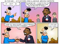 Ed Meets Obama