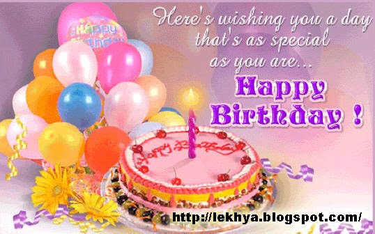 by Lekhya | Wednesday, July 14, 2010 in Happy Birthday , SMS |