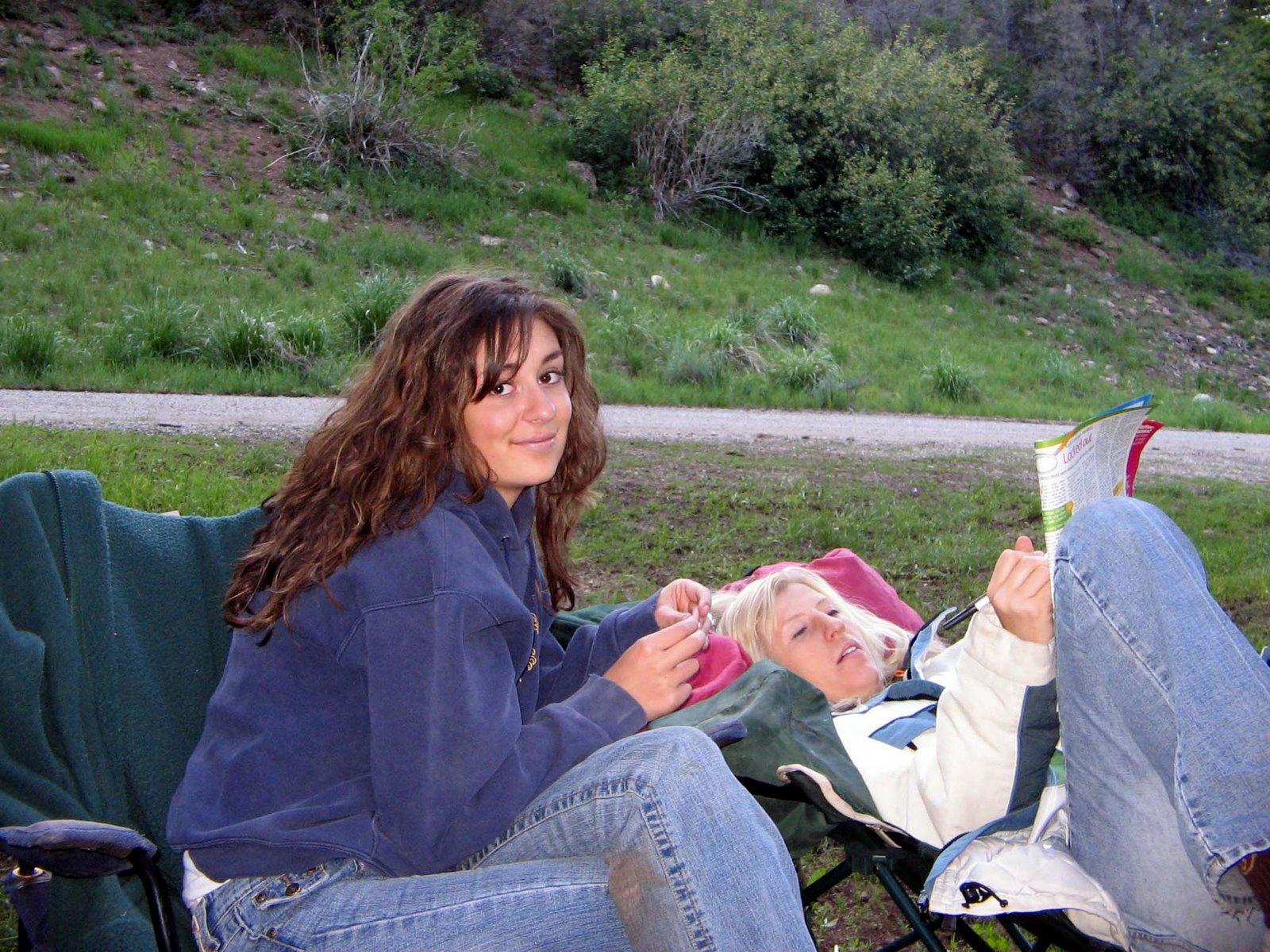 [Sarah+&+Kara+camping]
