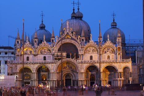 basilica san marco. The Piazza San Marco,