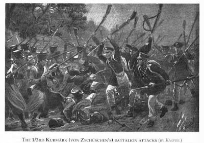 Prussian Landwehr at Hagelberg