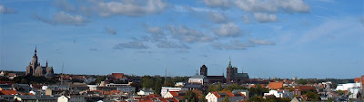 Stralsund - panorama miasteczka