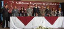 Galería de imágenes del 6to Congreso Argentino de Archivístico