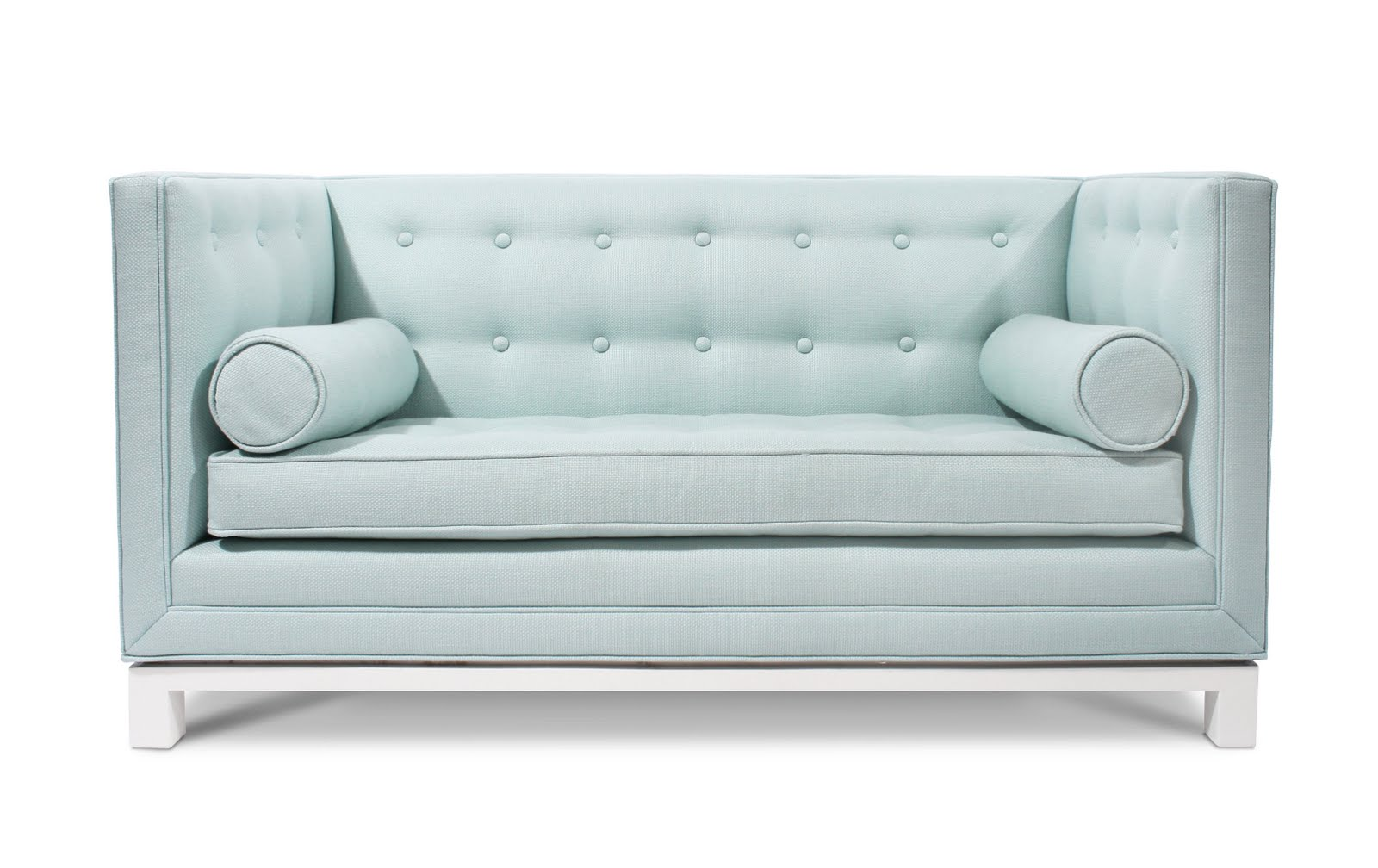 Light Blue Couch : STYLEBEAT: THE KIDS ARE ALRIGHT, THEY GET MINI MOD FURNITURE