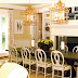 Peach Dining Room Interior