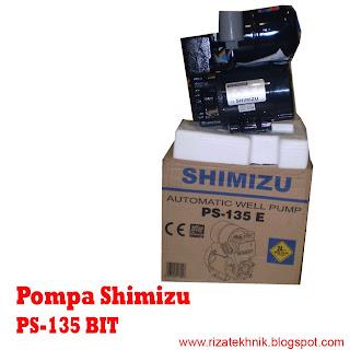 """RIZA TEHNIK """" Pusatnya Pompa Air"""": Pompa Shimizu PS-135 E"""