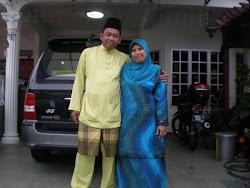 Sayang Abah & Mak saya