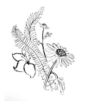 Flower Doodle by Lani Mathis Doodle Off V.3