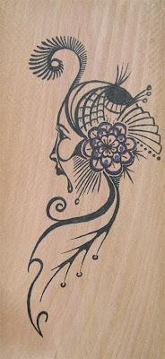 The Wood Dweller drawing by Lani Mathis of GreenSpaceGoods
