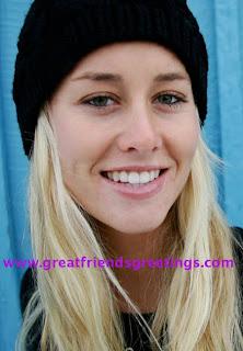 Chanelle Sladics Personalized Greeting CardsChanelle Sladics Snowboarding
