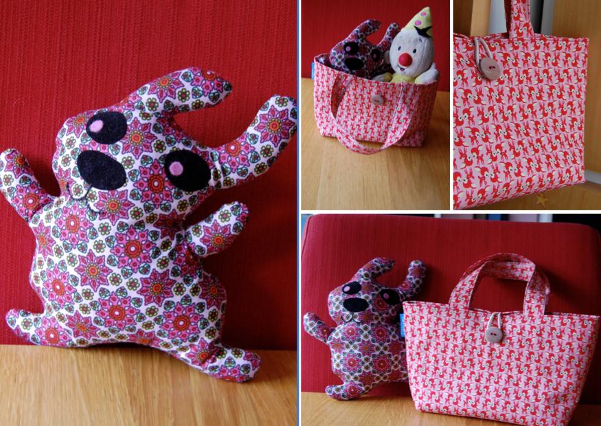 Sofilles een klein tasje voor een klein meisje - Bed voor een klein meisje ...