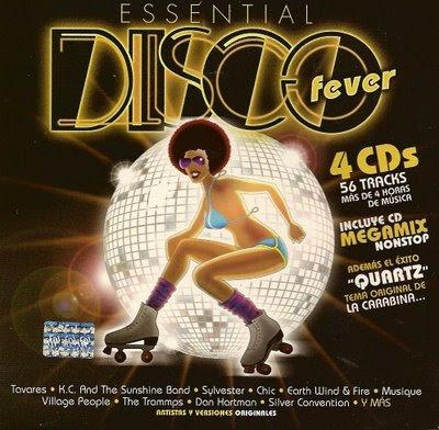 Capa Essential Disco Fever | músicas